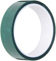 """3M 8992 2.5"""" x 72yd Dark Green Polyester/Silicone Adhesive Tape 400 degrees F, 72 yds length, 2.5"""" width, 1 roll"""