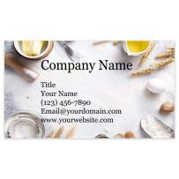 """Premium Personalized Business Cards 3.5"""" x 2"""" - 100 Cards - 14Pt, Recycled, 28PT Business Cards - All Business Designs - 40+ Designs - 100% Made in the U.S.A. - Same Day Shipping (Bakers Table)"""