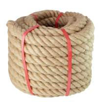 Manila Rope- (1 Inch x 50 Feet),for Landscaping,Crafts,Sporting,Marine,Projects and Tie-Downs