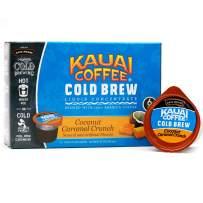 JAVA HOUSE Cold Brew Coffee Concentrate Liquid Pods - 1.35 Fluid Ounces- Enjoy Hot Or Iced… (Kauai Coconut Caramel Crunch, 6 Count)