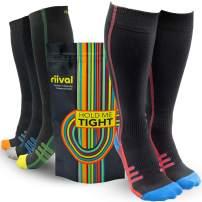 Riival Runners Choice Premium Compression Socks Women and Mens 15-20 mmHg