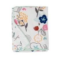 Lolli Living Sherpa Soft Baby Blanket - Stella Print PREMIUM Cute Cozy Fabric for BEST COMFORT | Infant,Toddler,Newborn,Nursery,Boy,Girl,Unisex,Throw,Crib,Stroller,Bedding,Gift | 40x30 In