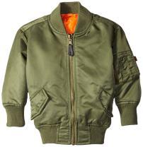 Alpha Industries Boys' Little MA-1 Bomber Jacket
