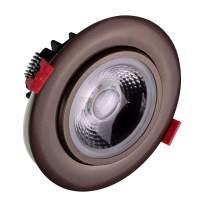 NICOR Lighting DGD411205KRDOB LED Downlights, Oil-Rubbed Bronze