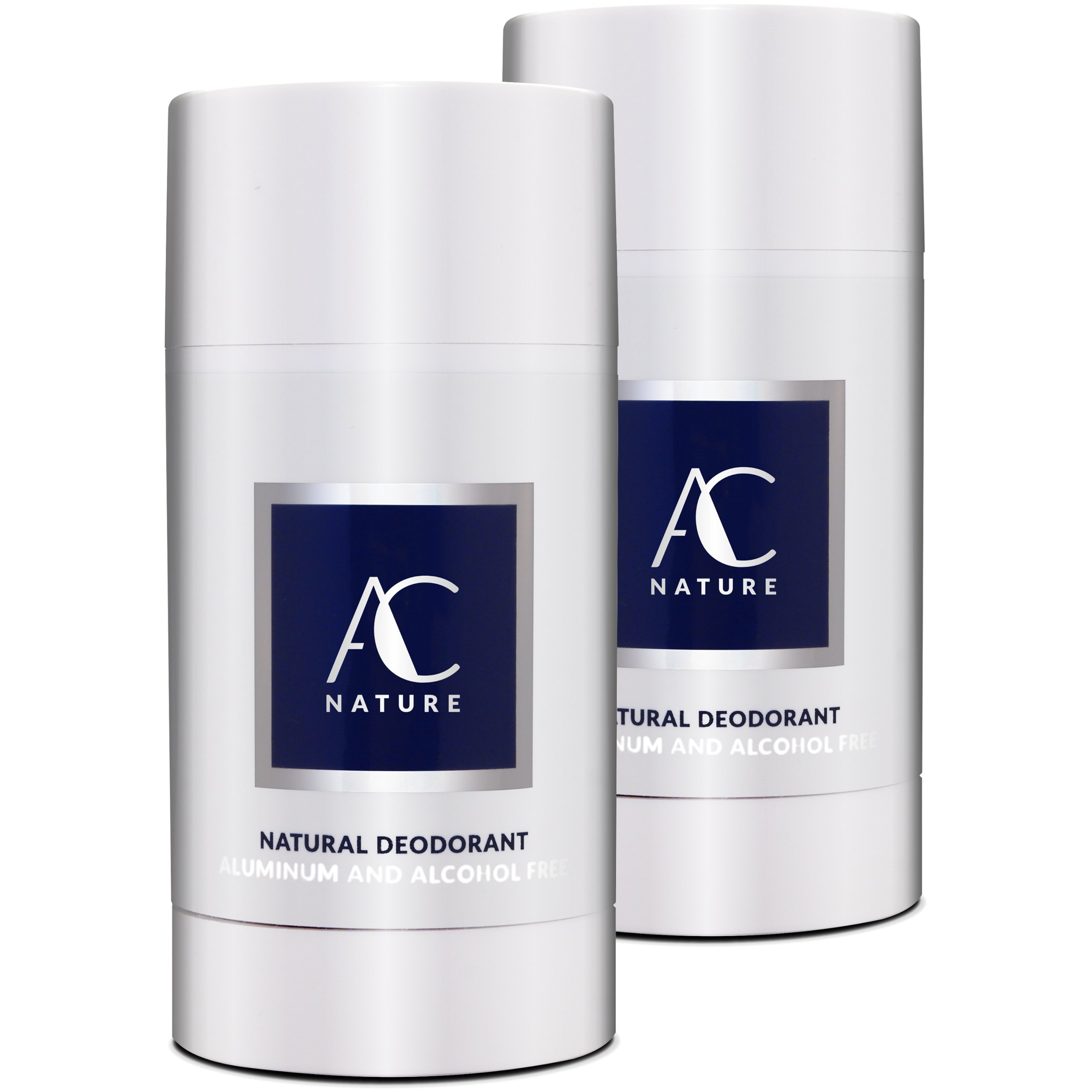 AC NATURE Lavender Natural Deodorant Stick Infused with Vitamin E - High Performance & Toxic Free - (Strong - Ultimate Power, 2pc)