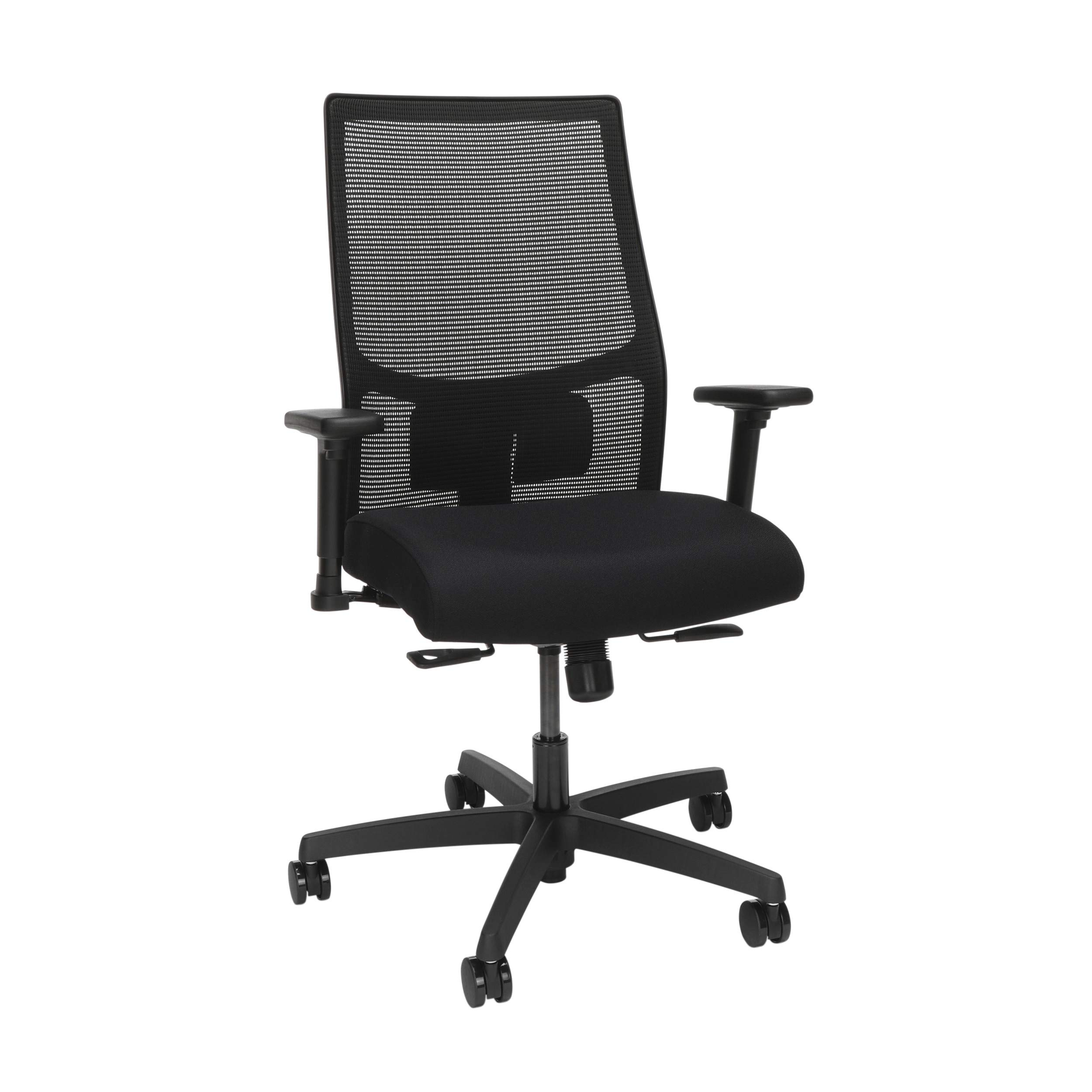 HON Ignition 2.0 Mesh Back Task Chair, in Black/Black