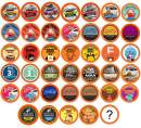 Two Rivers Coffee Mega Coffee Pods, Compatible with 2.0 Keurig K Cup Brewers, Coffee Lovers Variety Pack, 40 Count