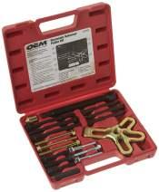 OEMTOOLS 27187 Harmonic Balancer Puller Kit, Works as Harmonic Balancer, Gear Pulley, Crank Shaft Pulley, & Steering Wheel Puller