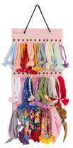 Headband Holder for Baby Girl, Hanging Storage Organizer Newborn Headbands, Bows