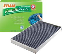 FRAM CF11181 Fresh Breeze Cabin Air Filter with Arm & Hammer