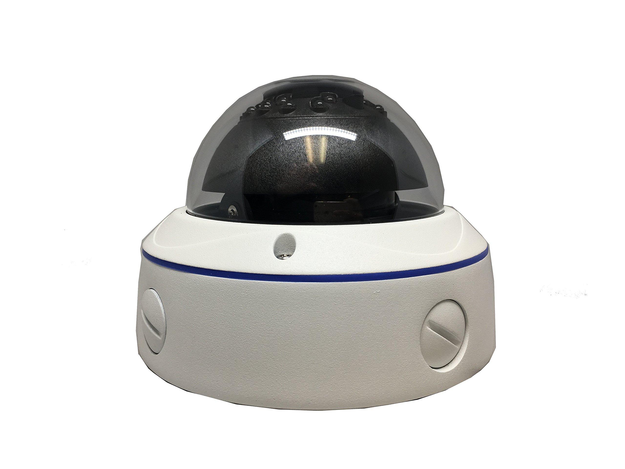 101AV 1080P True Full-HD 4in1 (TVI, AHD, CVI, CVBS) 2.8-12mm Varifocal Lens IR in/Outdoor Dome Camera Sony 2.1 Megapixel 1920x1080 Image Sensor 18 pcs Smart IR 100ft IR Range DWDR UTC OSD IP66
