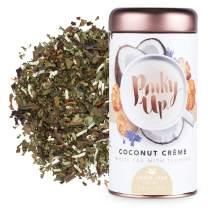 Pinky Up Coconut Crème, White Tea, Medium Caffeine, Loose Leaf, 25 servings