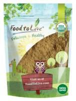 Organic Ginger Root Powder, 4 Ounces - Non-GMO, Kosher, Bulk, Raw Ground Ginger Root, Flour