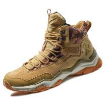 RAX Men's Wild Wolf Waterproof Hiking Boot Outdoor Trekking Shoes