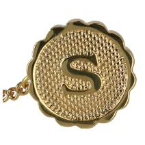 Ascentix Men's Gold Tie Tack with Initial