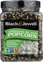 Black Jewell Original Black Hulless Popcorn Kernels 28.35 Ounces (Pack of 3)