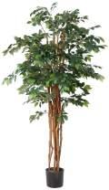 Nearly Natural Sakaki Silk Tree, 7'