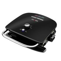 George Foreman GBR5750SBLQ Grill & Broil 7-in-1 Electric Indoor Grill, Broiler, Panini Press, and Waffle Maker, Black, ONE SIZE