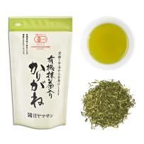 Twig Loose Leaf Green Tea with Matcha Powder,Kukicha Japanese JAS Organic (100g Bag)【CHAGANJU】…