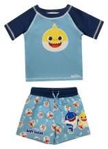 Dreamwave Infant Boy Authentic Character Swimwear - 2 Piece Rash Guard and Swim Trunk Set or Unisuit UPF 50