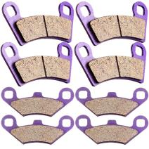 SCITOO Kevlar Carbon Fiber Brake Pads Fit for 08 09 10 11 12 13 14 Polaris RZR 800,09 10 11 12 13 14 Polaris RZR S 800