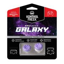KontrolFreek FPS Freek Galaxy Performance Thumbsticks for Nintendo Switch   1 Mid-Rise, 1 High-Rise Concave   Purple