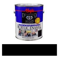 Majic Paints 8-1501-1 Diamond Hard Acrylic Enamel High Paint, 128 oz / 1-Gallon, Gloss Black