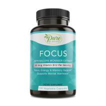 Pure By Nature Alert-Focus and Brain Clarity, 120 Count