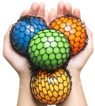 KELZ KIDZ Quality & Durable Mesh Squishy Balls with Exclusive Sewn Mesh! (2 Balls)