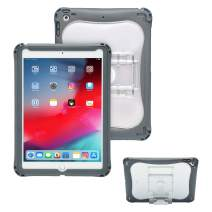 Brenthaven Edge 360 Case Designed for The New Apple for Commercial, Business and Office -Gray, Durable, Rugged Protection from Impact and Compression (Apple iPad 9.7, Gray)