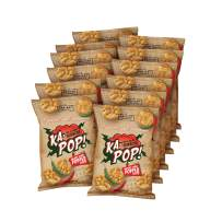 Ka-Pop! Popped Chips, Red & Green Sriracha (1oz, Pack of 12) - Allergen Friendly, Sorghum, Gluten-Free, Paleo Friendly, Non-GMO, Vegan, Healthy, Whole Grain Snacks, As Seen on Shark Tank