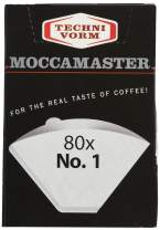 Technivorm Moccamaster Cup-One Paper Filters, Size, White