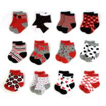 Baby Socks for Boys and Girls 0-24 Months with Cute Designs and Patterns
