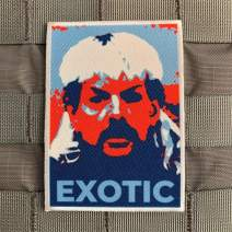 """Violent Little""""Hope Exotic"""" Tiger King Joe Morale Patch"""
