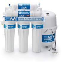 Reverse Osmosis Water Filtration System | 50 GPD | RO Water Purifier | Includes Faucet and Tank | Under Sink Water Filter | All Installation Parts and Filters Included