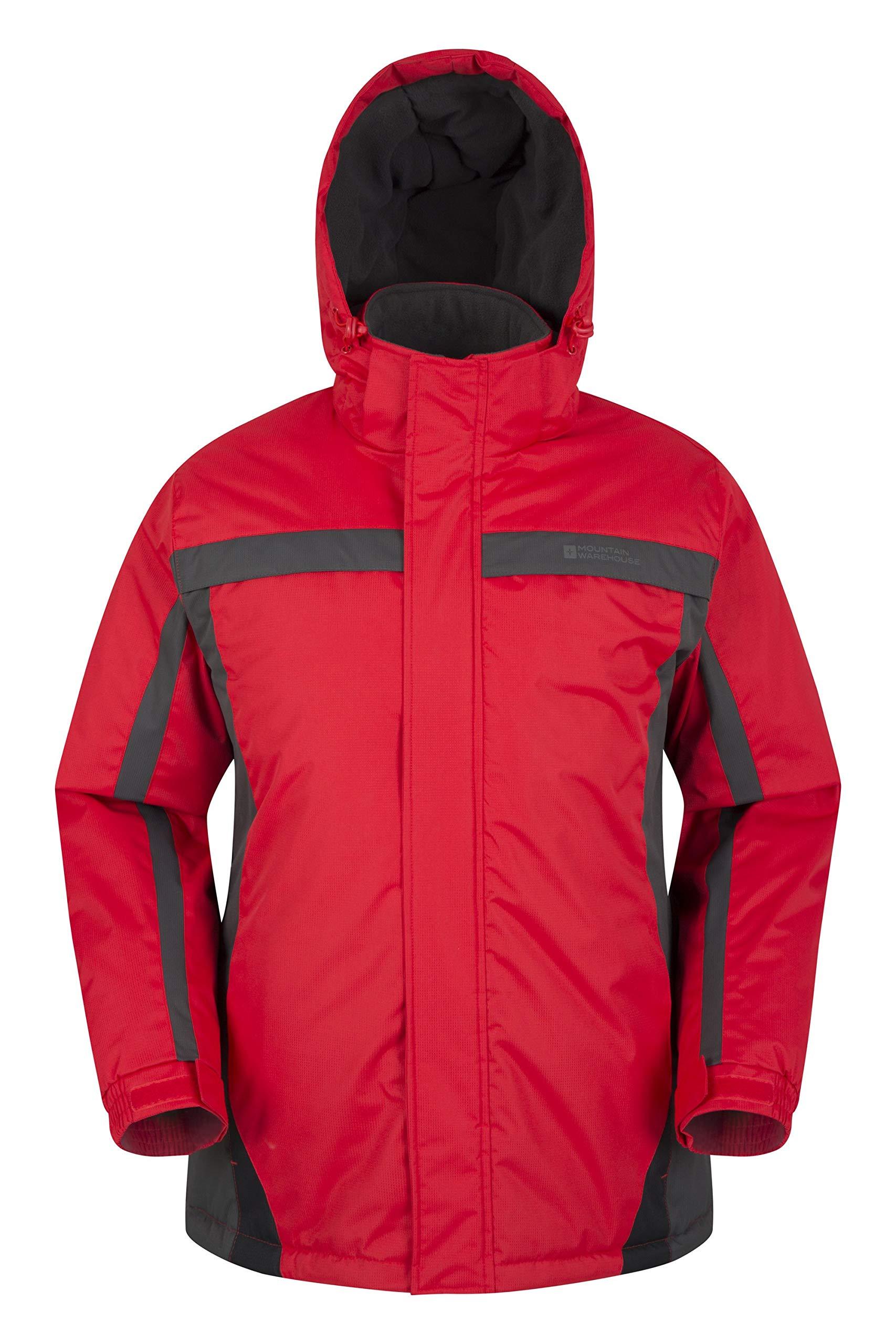 Mountain Warehouse Dusk Mens Ski Jacket - Water Resistant Winter Coat