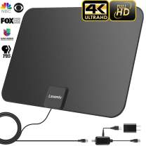【2020 Upgraded】 HDTV Antenna Indoor Digital TV Antenna, 120 Miles Range HD Antenna with Amplifier Signal Booster and 13FT Coaxial Cable - Extremely High Reception