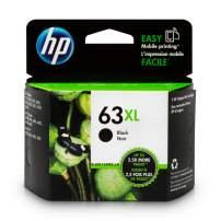 HP 63XL   Ink Cartridge   Black   F6U64AN