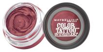 Maybelline New York Eyestudio ColorTattoo Metal 24HR Cream Gel Eyeshadow, Pomegranate Pink, 0.14 Ounce (1 Count)