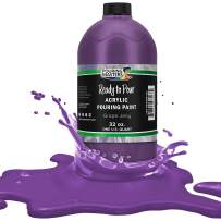 Pouring Masters Grape Jelly Acrylic Ready to Pour Pouring Paint – Premium 32-Ounce Pre-Mixed Water-Based - for Canvas, Wood, Paper, Crafts, Tile, Rocks and More