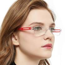 OCI CHIARI Reading Glasses For Men And Women Transparent Stylish Rimless Reader 1.0 1.5 2.0 2.5 3.0 4.0