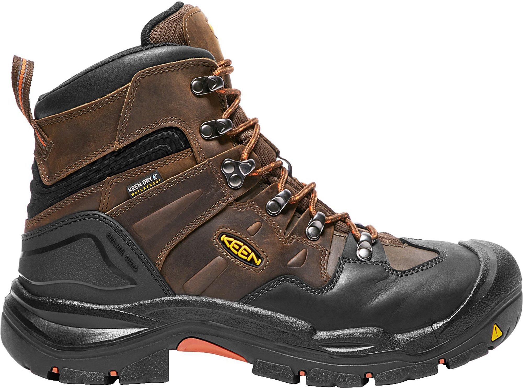"""KEEN Utility Men's Coburg 6"""" Steel Toe Waterproof Work Boot"""