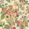 York Wallcoverings Global Chic Graceful Garden Removable Wallpaper, Beige, Yellow, Pink, Red, Orange, Dark Green
