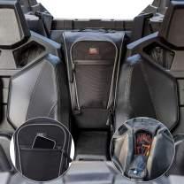 2021 RZR PRO XP Storage Bag, kemimoto 1680D UTV Cab Pack Center Seat Bag with PVC Wear Resistant Zippers Compatible with 2020 2021 Polaris RZR PRO XP