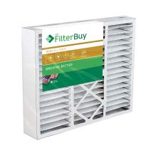 FilterBuy 17.5x21x5 Rheem Ruud PD540010, PD540016 Compatible Pleated AC Furnace Air Filters (MERV 11, AFB Gold). Fits air cleaner models RXHF-E17AM10 RXHF-E17AM13. 1 Pack.