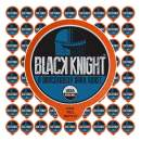 Fresh Roasted Coffee LLC, Organic Black Knight Coffee Pods, Dark Roast, Artisan Blend, 72 Count