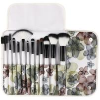UNIMEIX Makeup Brush Premium 12 Pieces Makeup Brushes Set Foundation Powder Contour Concealer Blending Eyeshadow Professional Bursh Set with Floral Case