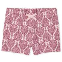 The Children's Place Girls' Graphic Printed Drawstring Shorts