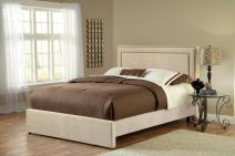 Hillsdale Furniture Amber Bed Set, King, Buckwheat