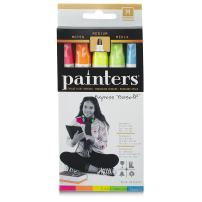 Elmer's Painters Opaque Paint Marker, Medium Point, Neon Brights, 1-Pack of 5